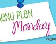 Menu Planning Monday {the Healthy Way}