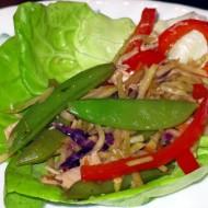 Taste the Rainbow: Asian Lettuce Wraps
