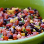 Roasted Pepper Pico de Gallo