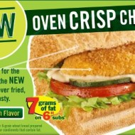 Enjoy the NEW Oven Crisp Chicken from Subway (closed)