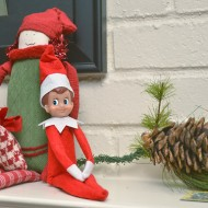 Jesus, Santa, and the Elf on the Shelf