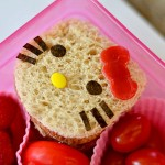 hello kitty cookie cutter sandwich