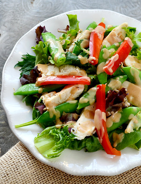 peanut dressing vegan broccoli salad with spicy sesame peanut dressing ...