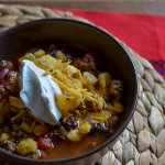 Fall Comfort Food: Slow Cooker Taco Soup