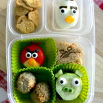 Angry Birds #bento kid-food #iheartlunch