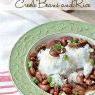 Slow Cooker Creole Beans and Rice