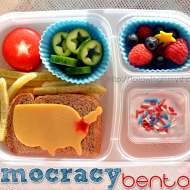 I Heart Lunch: Two (very different) Days.  Two (very different) Bentos