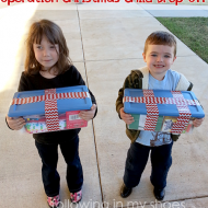 Operation Christmas Child.  It Is NOT Too Late!