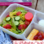 salad and protein #bento #iheartlunch in an @easylunchboxes container