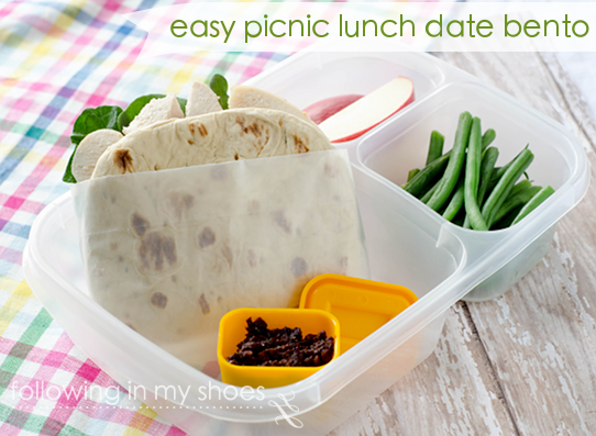 Plan a Date: Picnic Lunch Bento