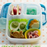 Easy Green Eggs and Ham Bento