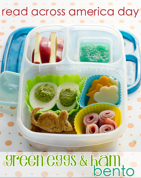 Green Eggs and Ham Bento