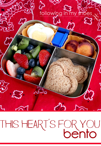 heart pocket sandwiches for bentos