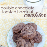 The Story of Double-Chocolate and Toasted Hazelnut Cookies AND the Cookie Thief