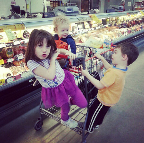 grocery store antics