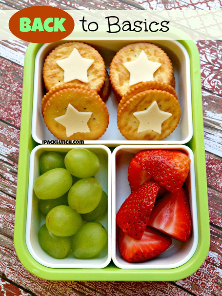 A Healthy But Cute Bento - lunch can be simple and fun