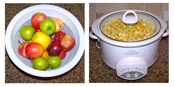 slow-cooker applesauce recipe