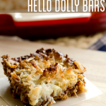hello dolly coconut bars