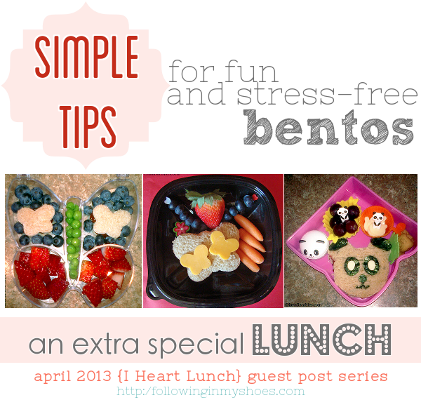 simple tips for stress free bentos