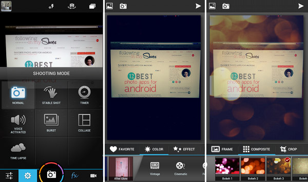 Camera ZoomFX App For Android