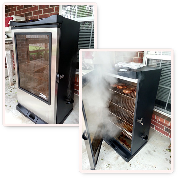 Electric Smoker Large Enough For Ham or Turkey