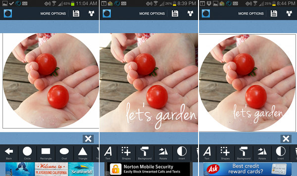 Shape'd Photo App for Android