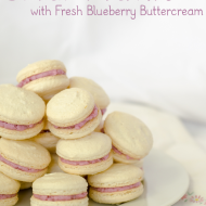 I Came, I Saw, I Conquered the Macaron {plus Fresh Blueberry Buttercream Recipe}