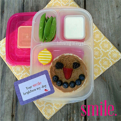 Smiley Face Bento
