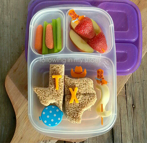 Texas Themed Bento