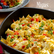Ultimate Comfort Food Tex-Mex Migas #30MinuteMeals