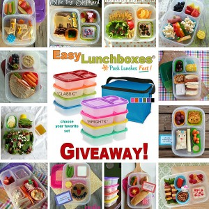 Back to School Lunch Packing: Easy Lunchboxes Giveaway {closed}