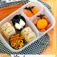 A Very Batty Black and Orange Lunch {iheartLunch}