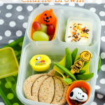 Charlie Brown and the Great Pumpkin Halloween Lunch Bento