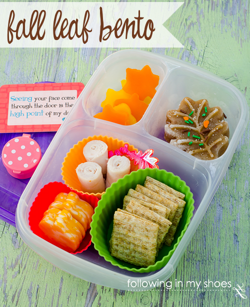 Falling Leaves Bento #iheartlunch