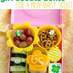 A Girl Scout Bento for a new Daisy Scout!