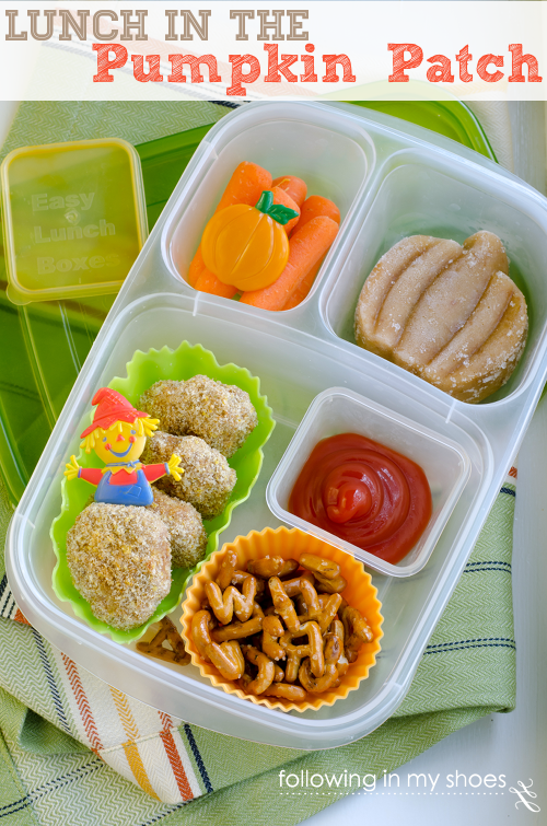 Pumpkin Patch Bento #iheartLunch