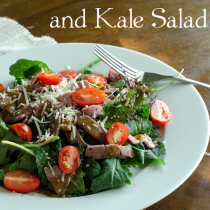 Roast Beef Salad #grainfree