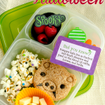 Simple Halloween Kid Food