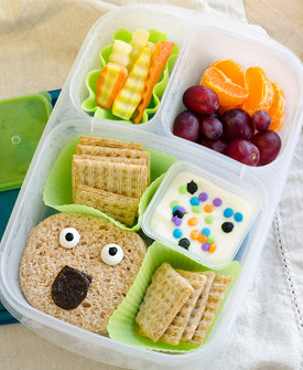 silly monster lunch