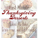 Easy Thanksgiving Dessert Recipes