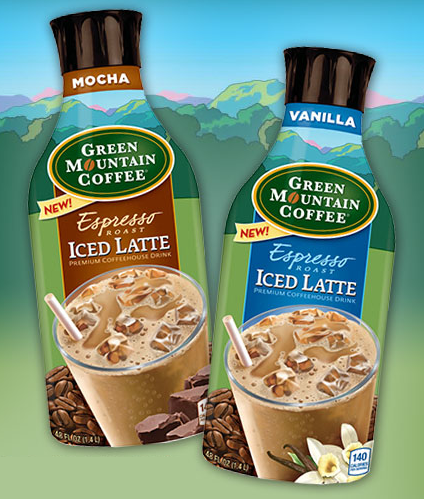 Green Moutain Iced Lattes