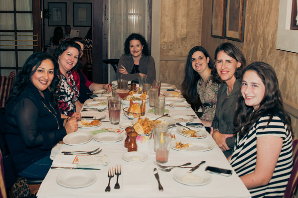 Houston Bloggers at the #TinyPrintsCheer Dinner