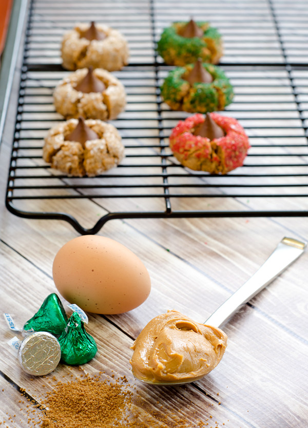 Grain-Free Peanut Butter Blossoms with Simple Ingredients