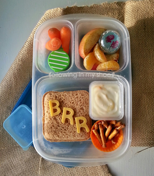 Simple Winter Bento