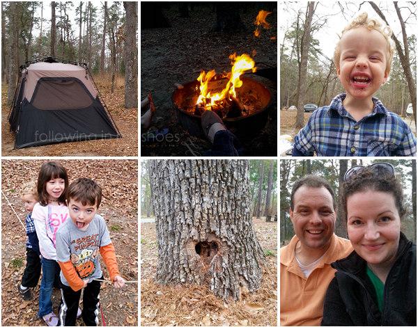 Huntsville State Park Family Camping