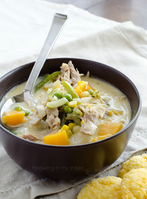 #glutenfree #dairyfree chicken pot pie soup