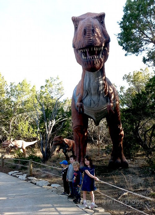pictures from Texas Dinosaur World