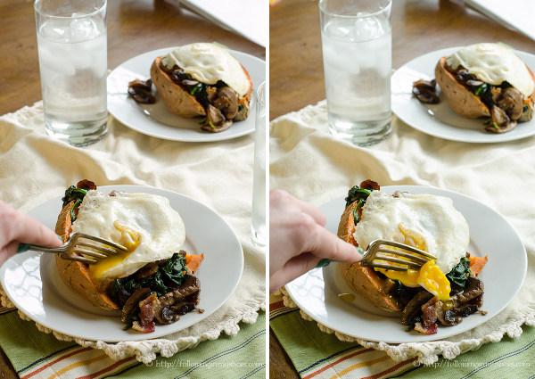 Loaded Sweet Potato #glutenfree