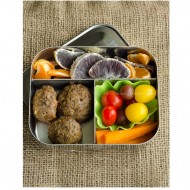 Pizza Meatball Bento #grainfree