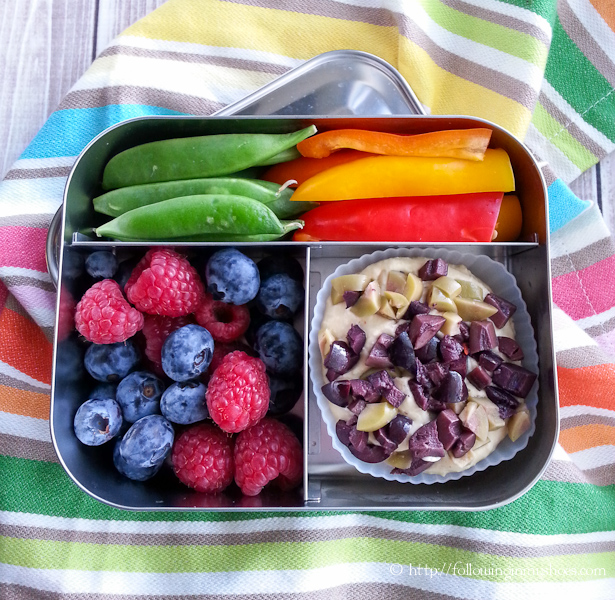 grain-free school lunch bento